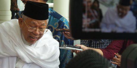 Alumni 212 Reuni di Monas, Ketua MUI Ma'aruf Amin: Tidak Usah Dihidup-hidupi Lagi, Untuk Apa itu?