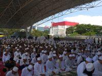 Ribuan Anggota Polda Sulsel Hadiri Kegiatan Istighosah Peringati HUT Kota Makassar ke 411