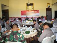 Soal Pengamanan Pilkada 2018, Polri – TNI Enrekang Gelar Coffee Morning Bersama