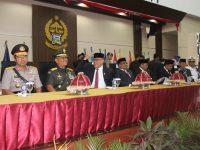 Kapolres Sulsel Hadiri Serah Terima Jabatan Gubernur Sulsel