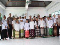 Kapolres Enrekang Makin Gesit Sambangi Ponpes Miftahul Khaer, Jelang Pilkada Serentak 2019