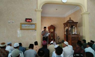 Giat Berikan Himbauan Kamtibmas ke Masjid-masjid, Kapolres Enrekang: Jangan Sampai Menimbulkan Perpecahan