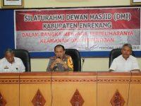 Kapolres Enrekang Kumpulkan Para Pemuka Agama di Kegiatan Silaturahmi Dewan Masjid Indonesia