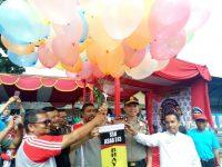 Giliran Purwakarta, Kapolres AKBP Dedy Tabrani Resmikan SSB Asad 313 Bhayangkara FC