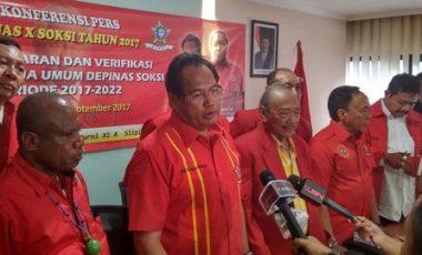 Tetap Konsisten !!, SOKSI Tetap Dukung Kepemimpinan Setya Novanto dan Presiden Joko Widodo