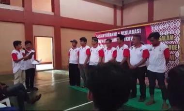 Relawan Jokowi di Tangsel Gelar Deklarasi Dukungan dan Siap Kawal Pilpres 2019