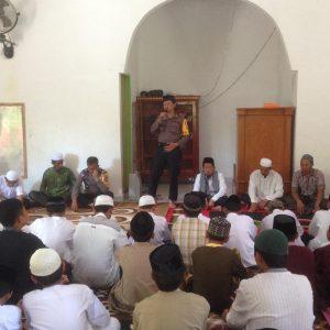 Polres Enrekang Kunjungan ke Ponpes Minta Doa Bersama Demi Pilkada 2018 Aman dan Kondusif