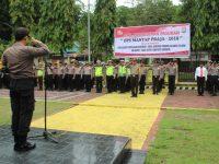 Polres Enrekang Apel Pergeseran Pasukan Pengamanan TPS Pilkada Serentak 2018