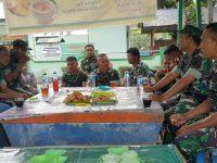 Menumbuhkan Kebersamaan TNI-Polri, Polsek Enrekang Laksanakan Giat Coffee Morning Dengan Danramil Kota Enrekang