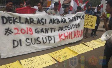 Tolak Deklarasi #2019GantiPresiden, Mahasiswa Cipayung-Banten : Sabar, Ini Belum Kampanye