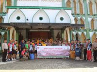 Polres Enrekang dan Kodim 1419 Enrekang Jalin Sinergitas dengan Laksanakan Kerja Bhakti Bersama
