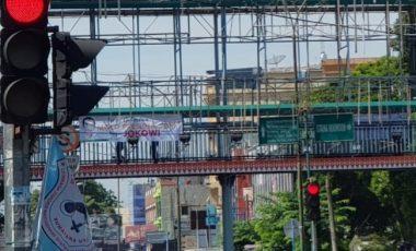 Setelah Jabar, Kini Giliran Medan Dihiasi Spanduk Dukung Jokowi 2019