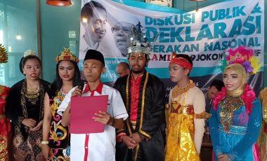 Wakili Pemilih Muda, KAMI Adakan Deklarasi Dukung Jokowi-Ma'ruf Amin