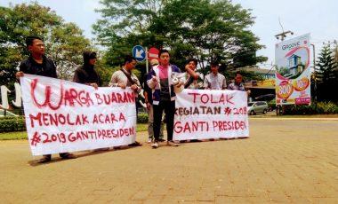 Kembali Turun Ke Jalan, Aktivis Mahasiswa Tangsel Menolak Deklarasi #2019GantiPresiden