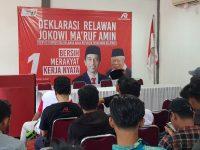 Siap Menangkan Jokowi, Puluhan Relawan Muda Tangsel (KERTAS) Nyatakan Deklarasi Dukungana