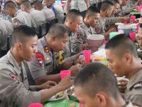 Kapolda Sulsel Ikut Laksanakan Makan Bersama Siswa SPN Batua