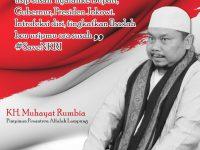 Dinilai Bisa Kurangi Perpecahan Umat, Ulama Lampung Tengah Nyatakan Dukung Kyai Ma'ruf Amin