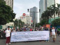 Himbau Masyarakat Tetap Jaga Persatuan Menyambut Pemilu, JPPR Gelar Aksi Simpatik