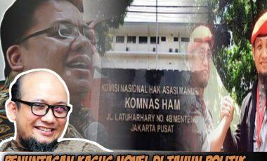 Ingin Sudutkan Jokowi, Kasus Novel Baswedan Dijadikan Isu Kampanye