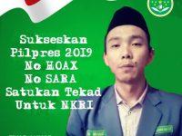 Ajak Ciptakan Suasana Kondusif, IPNU Jabar Siap Gandeng Umat Muslim Sukseskan Pemilu Damai 2019