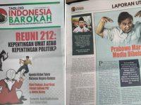 Takut Terbongkar Kebenarannya, Tim Prabowo-Sandi Laporkan Tabloid Indonesia Barokah