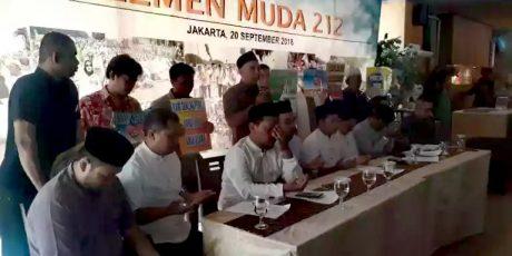 Ajak Gabung Cipayung Plus Kawal Pilpres Damai, Elemen Pemuda 212 : Wujudkan Indonesia Bermartabat