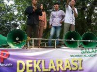 Gelar Kampanye, Relawan Pemuda Pancasila Dukung Jokowi-Ma'ruf di Pilpres 2019