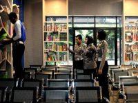 Satlantas Polres Tangsel Hadirkan Pojok Baca di Satpas SIM Cilenggang