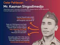 Kasman Singodimejo, Tokoh Muhammadiyah yang Dinobatkan Jadi Pahlawan Nasional
